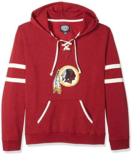 OTS NFL Adult Womens NFL Womens Grant Lace Up Pullover Hoodie