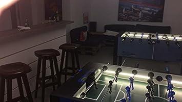 Futbolín parte de la superficie de iluminación de nuevo, iluminación para futbolín: Amazon.es: Juguetes y juegos