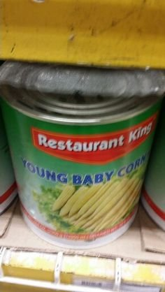Restaurant King Young Baby Corn 104 Oz (6 Pack)
