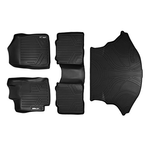 SMARTLINER Floor Mats  and Cargo Liner Set Black for 2009-20