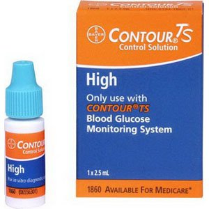 Bayer Corp 561860 Contour Ts High Level Control Solution,...