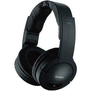 Sony MDR-RF985RK Wireless Radio Frequency Headphones (case of 2)