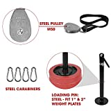 Yes4All LAT Pulley System with Plate Loading Pin
