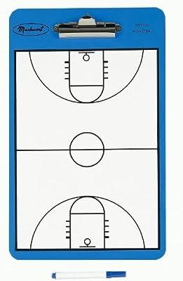 Markwort - Dos Cara cancha de Baloncesto portapapeles: Amazon.es ...