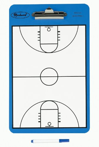 (Markwort Two Sided Basketball Court Clipboard)