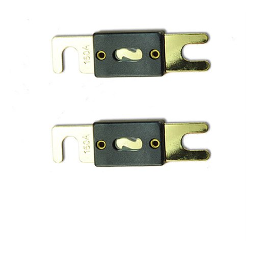 new-2-pack-150-amp-anl-fuses-gold-plated