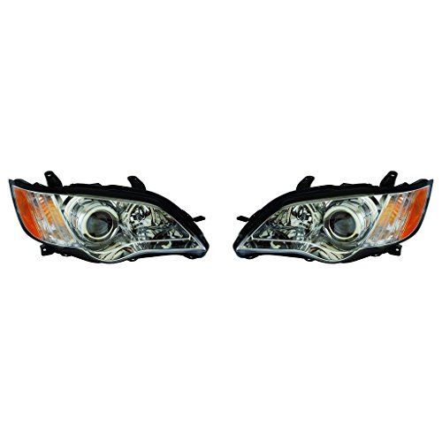Fits Subaru Outback 08-09 Headlight Assembly Pair Driver and Passenger Side (NSF Certified)