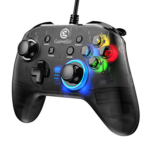 GameSir T4 PC Controller 2.4 GHz Wireless&Wired Game Controller Joystick with Dual-Vibration for Windows 7/8/10