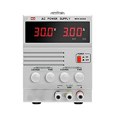 XIAOF-FEN High Precision Single AC Regulated Power Supply Maintenance Test MCH-303AD Home Improvement Electrical