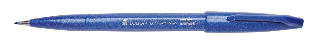 Pentel, penna con punta a pennello verde SES15C-D reikos_0019522742AM_0042361