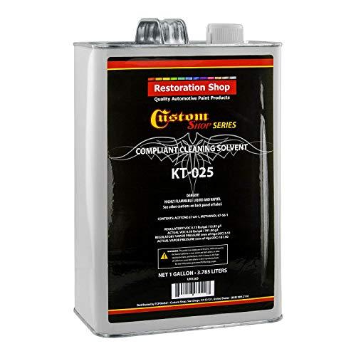 Restoration Shop Custom Shop Compliant Spray Gun Cleaning Solvent - Gallon