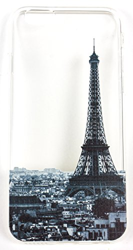 Samsung Galaxy J7 Case, YogaCase InTrends Back Protective Cover (Cityscape Paris)
