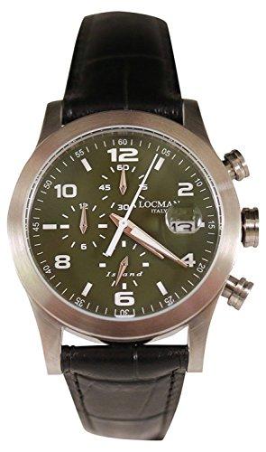 LOCMAN watch ISLAND 0618A03-00GRWHPK Men's