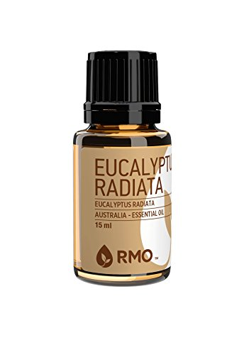 Rocky Mountain Oils - 100% Pure Eucalyptus Radiata Essential Oil - Promotes Healthy Function of the Immune and Respiratory Systems and Relaxation; Best For Diffusion and Topical Application - 15 ml