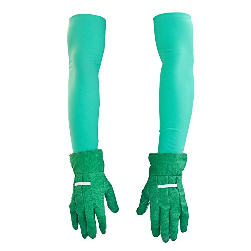 Thorium Green Gardening Heavy Duty Arm Sleeve Protectors Prevents Skin Irritation Scrapes UV Protection Lycra Comes Complete with Gloves & Storage Bag by Thorium (Image #2)
