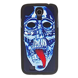 Skeleton Design Sense Light Plastic and Silicone Case Cover for Samsung Galaxy S4 i9500/i9505