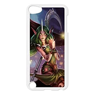ipod 5 phone case White Soraka league of legends SDF4537996