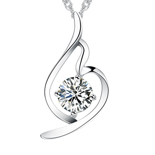 Aurora Sparkle Classic Girls Princess Costumes (Princess Aurora [Melody of Dream] Sterling Silver Pendant Necklace)