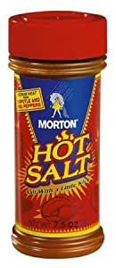 Morton HOT SALT - 4oz Shakers - 6 (SIX) Pack