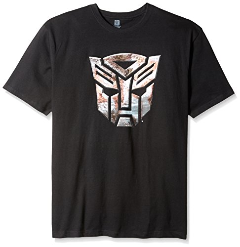 [Men's Big Transformers T-Shirt, Black, XXX-Large] (Optimus Prime Costume T Shirt)
