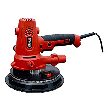 iBELL Dry Wall Sander DS80-70, 180MM, 800W, 1200-2300rpm with Vacuum and LED Light 8