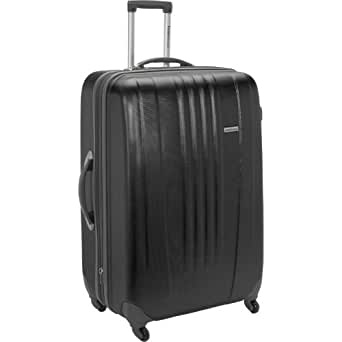 "Toronto 29"" Expandable Hardsided Spinner Suitcase Color: Black"