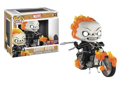 Funko Pop! Rides: Marvel Classic Ghost Rider with Bike Vinyl