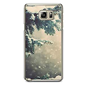 Christmas Samsung Galaxy Note 5 Transparent Edge Case - Christmas Collection