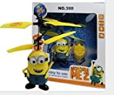 Male Despicable ME Minion Infrared RC Remote Control Helicopter Flying Toy by SUD