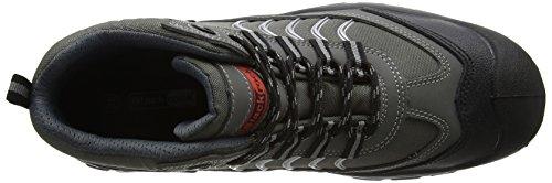 Blackrock SF49 - Zapatos de seguridad de cuero unisex, color gris - gris/negro, talla 46 EU (11 UK) gris - gris/negro