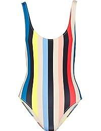 MiYang Women's Sexy Crewneck One Piece Beachwear Bikini Monokini Swimsuit