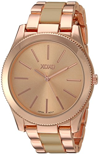 XOXO Women's Quartz Metal and Alloy Watch, Color:Two Tone (Model: XO5933) from XOXO