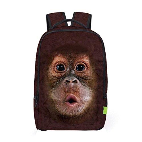 Fashion Backpack,Realdo Women Men 3D Galaxy Travel Satchel Rucksack Shoulder Bookbag School Bag from Realdo
