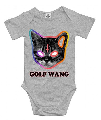 3a5eaf35ca22 Golf Wang - Cat - Odd Future Unisex Baby Short-Sleeve Onesies Cotton  Bodysuits Infant