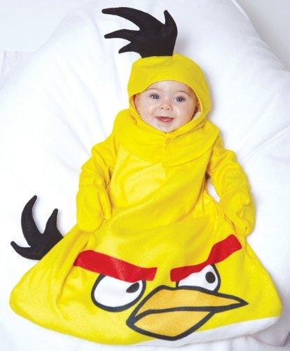 Yellow Bird Bunting Baby Infant Costume - Newborn ()