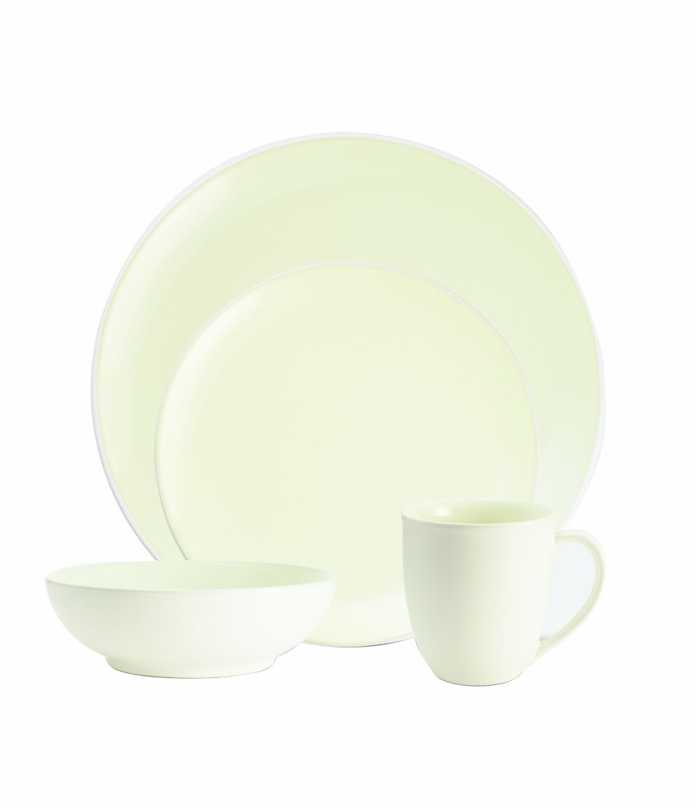 Amazon.com | Noritake Colorwave White 4-Piece Coupe Place Setting Dinnerware Sets Dinnerware Sets  sc 1 st  Amazon.com & Amazon.com | Noritake Colorwave White 4-Piece Coupe Place Setting ...
