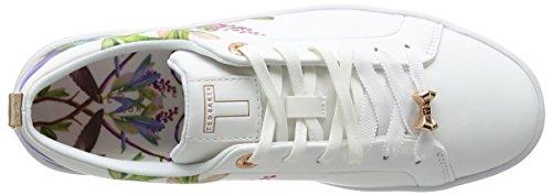 Baker Hummingbird Sneaker Bianco Ffffff Donna Ahfira Highgrove Ted dYEq6d