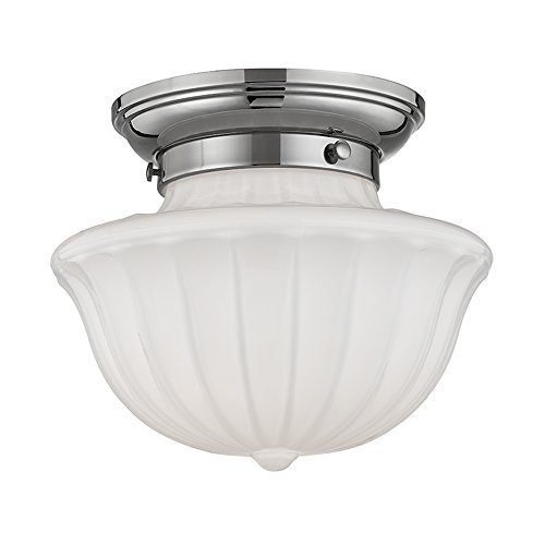 - Hudson Valley Lighting 5009F-PN One Light Flush Mount from the Dutchess collection 9