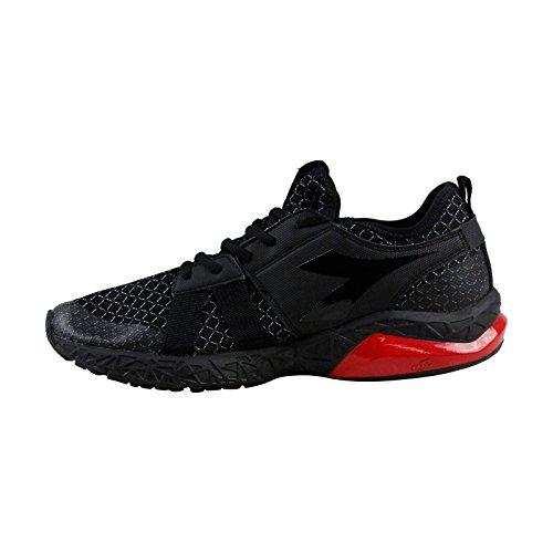 Run Athletic Shoes Training Lace Mens X Black Evo Mesh Up Diadora 7q4v5x