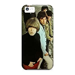 Shock Absorption Hard Cell-phone Case For Iphone 5c With Unique Design High-definition Rolling Stones Skin DrawsBriscoe
