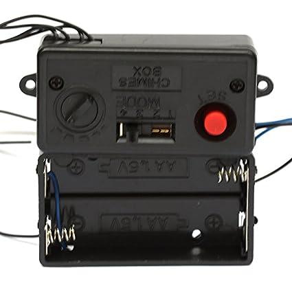 Amazon.com: Música Chime Box 002 Reloj De Pared Mecanismo ...