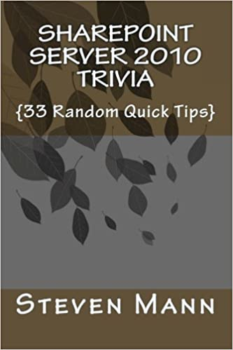 SharePoint Server 2010 Trivia {33 Random Quick Tips}