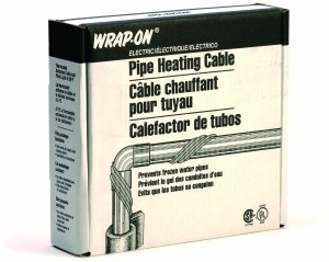 Why Choose WRAP-ON Pipe Heating Cable - 80-Feet, 120 Volt, Built-in Thermostat, Low Wattage - 31080
