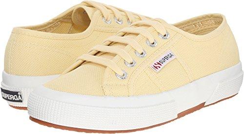 best sneakers d1201 19989 Superga Unisex 2750 Cotu Pale Yellow Classic Sneaker - 39 M EU / 8 B(M) US