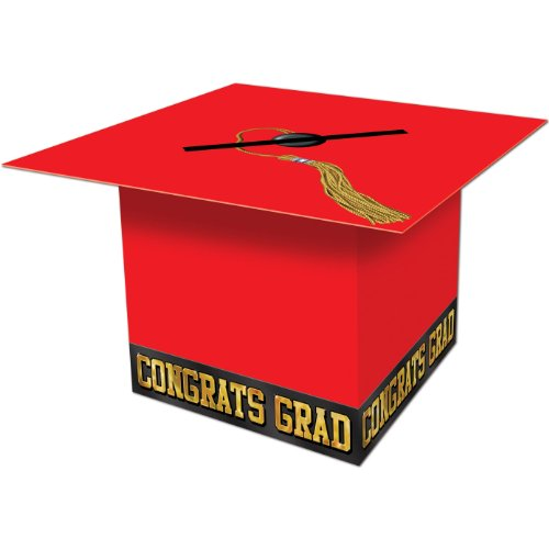 Beistle Graduate Cap Card 2 Inch