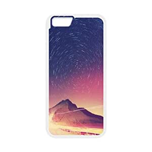 IPhone 6 Plus Case, Star Circles Astrophotography Cheap Case for IPhone 6 Plus {White}