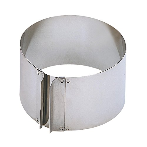 Kaiser 769325 Cake Ring with Handle, 3.54'', Silver by Kaiser