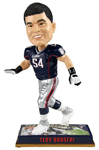 Forever Collectibles Tedy Bruschi New England Patriots NFL Legends Series Bobblehead NFL