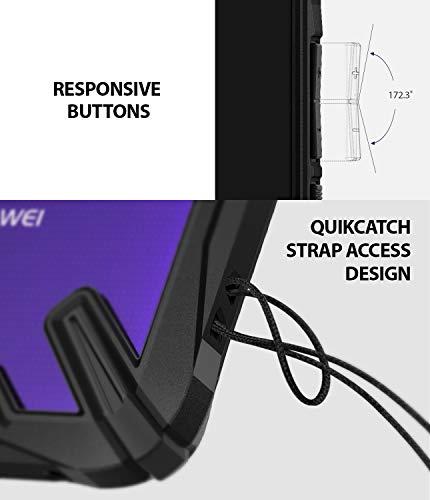 Ringke Fusion-X [Black] Designed for Huawei Mate 20 Pro Case