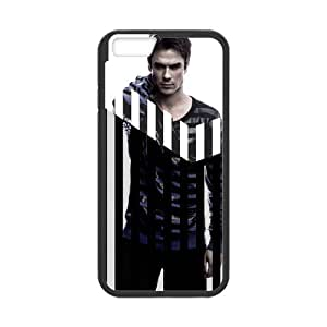 iPhone 6 Case, [Ian Joseph Somerhalder] iPhone 6 (4.7) Case Custom Durable Case Cover for iPhone6 TPU case(Laser Technology) by runtopwell